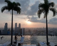 Marina Bay, Singapore (sunset)
