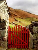 the gate to the hills