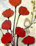 Under the Poppies No 2 by Jennifer Lommers