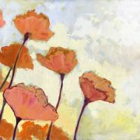 """Poppies in Cream"" by JENLO"