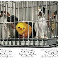 Dog Cage Art Prints & Posters by Sloane Tanen