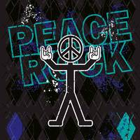 PEACE ROCK-ON GUY