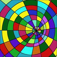 Colorful Binary Options Trader Swirl