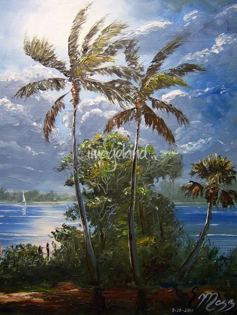 Moonlit Tropics
