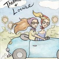 """Thelma and Louise"" by CharlaPettingill"