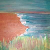 Lonely Seashore Art Prints & Posters by Deb Bagoy-Skinner