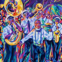 """New Orleans Second Line"" by neworleansartist"