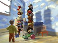 Toy Towers 9/11