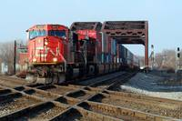 Canadian National Railway EMD SD75I # CN 5653 at B