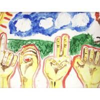 LOVE JOHN HAWKDOE Art Prints & Posters by John Hawkdoe