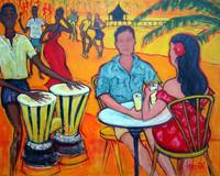 Fiesta at the Beach - Dance Music Seashore Bongos