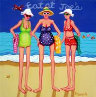Eat at Joes's - Funny Beach Women Seashore