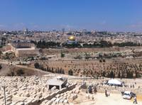 Temple Mount from the Mount of Olives