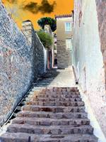 Stairs 7 Hydra Island Greece