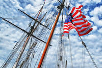 Old Glory and the Crow's Nest