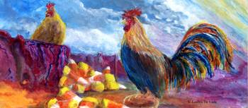 Chickens and Candy Corn