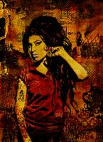 Amy Winehouse Canvas