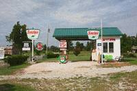 Route 66 Gas Station with