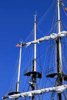 Mast and Flag