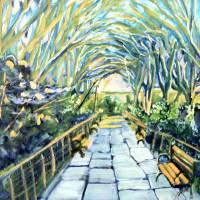 """Central Park Conservatory Garden Path"" by karlkappler"