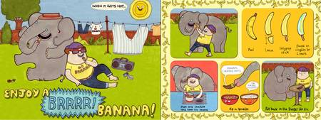 Brrrr Banana by Claire Murray