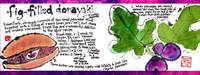 Fig Dorayaki by Deborah Davidson by They Draw & Cook & Travel