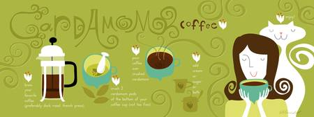 Cardamom Coffee by Salli Swindell