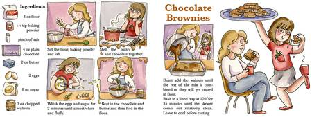 Chocolate Brownies by Amy McKay