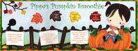 Pippa's Pumpkin Smoothie by Nicole Esposito by They Draw & Cook & Travel