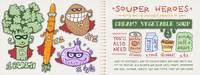 Souper Heroes by Yuliya Uzunova by They Draw & Cook & Travel