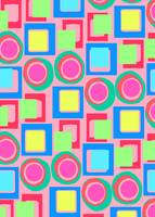 Circles and Squares (digital) by Louisa Knight