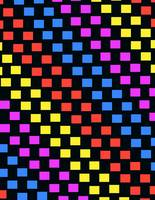 Colorful Squares (digital) by Louisa Knight