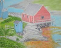 Peggy's Cove Outhouse