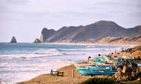 Fishing Boats on the Coast of Ecuador