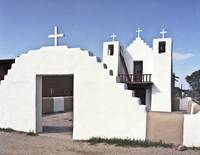 Old Church in Taos New Mexico