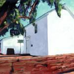 Old Adobe Chapel San Diego by RD Riccoboni
