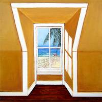 Window to the Sea No 3 - Beach Ocean Seashore