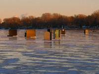 Ice Fishing Hot Spot