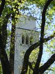 Church through Trees