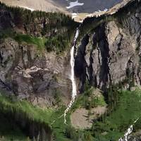 Avalanch Lake waterfall 2011
