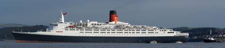 QE2 panoramic print