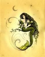 Mermaid - Reef Madonna by Savanna Redman