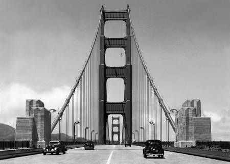 Golden Gate Bridge c1940, San Francisco