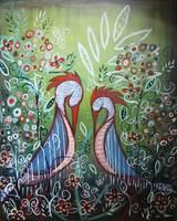 Enchanted Garden : Birds in Paradise by Kristen Stein