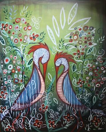 Enchanted Garden : Birds in Paradise