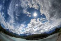Skyscape on Icefields Parkway, Banff National Park