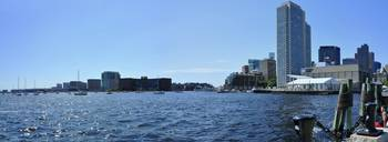 Boston Waterfront Pano