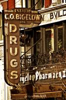 A Vintage Sign_ CO Bigelow Pharmacy_ New York City