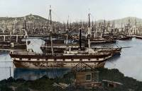San Francisco Waterfront 1850 by WorldWide Archive