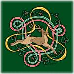 Celtic Reindeer Knots by Kristen Fox